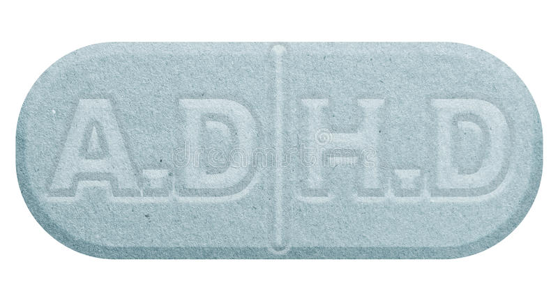 Błękitna pigułka odizolowywająca na bielu ilustracji