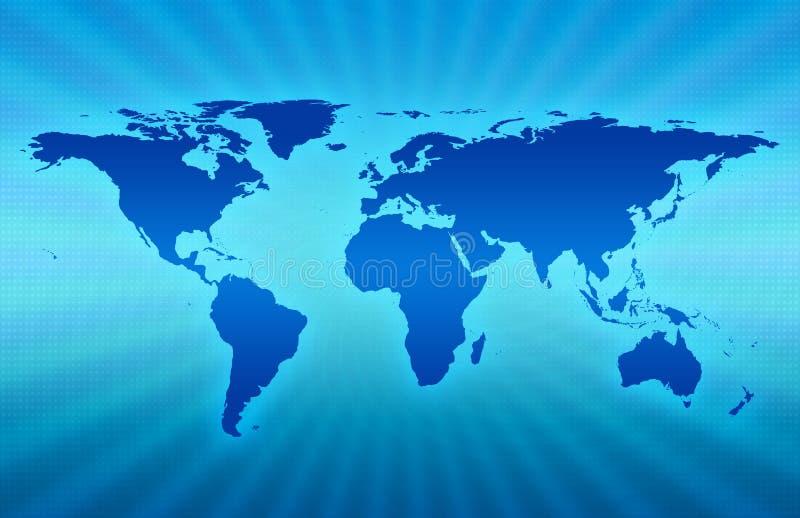 błękitna planeta royalty ilustracja