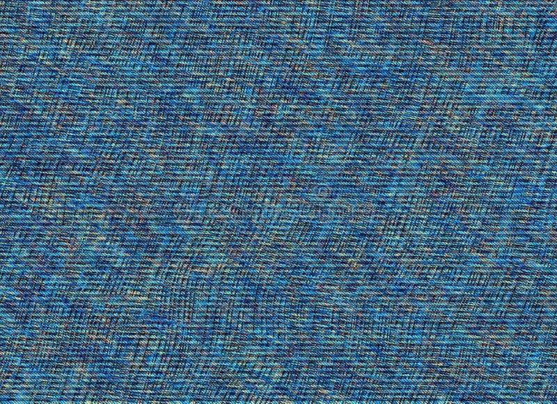 Błękitna stara drelichowa cajg tekstura royalty ilustracja