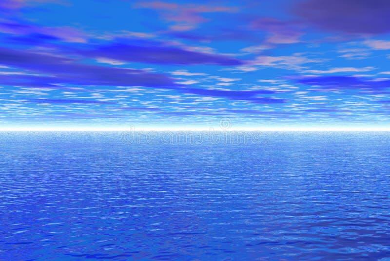 błękitna woda ilustracja wektor