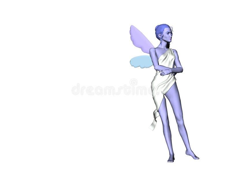 błękitna wróżka 5 ilustracji