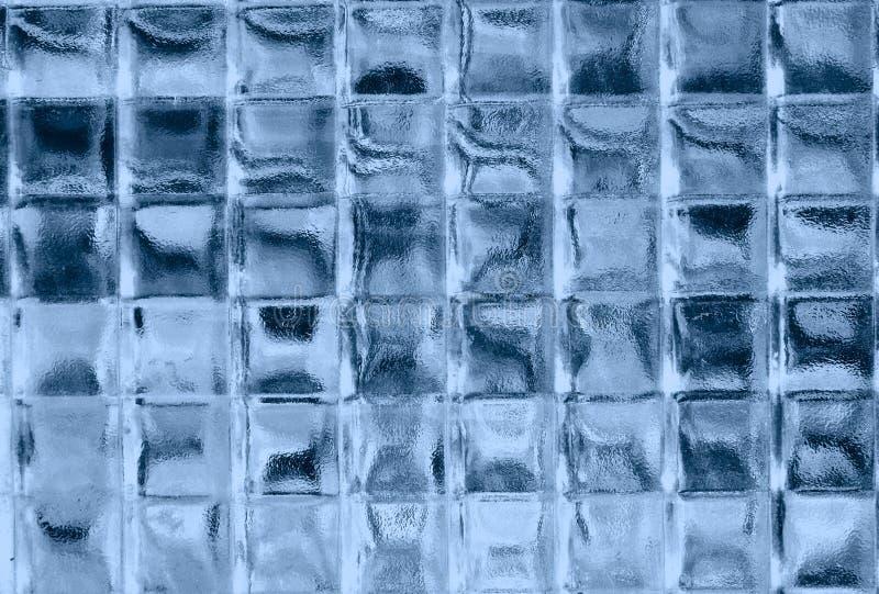 błękitne kwadraty szkła zdjęcie royalty free