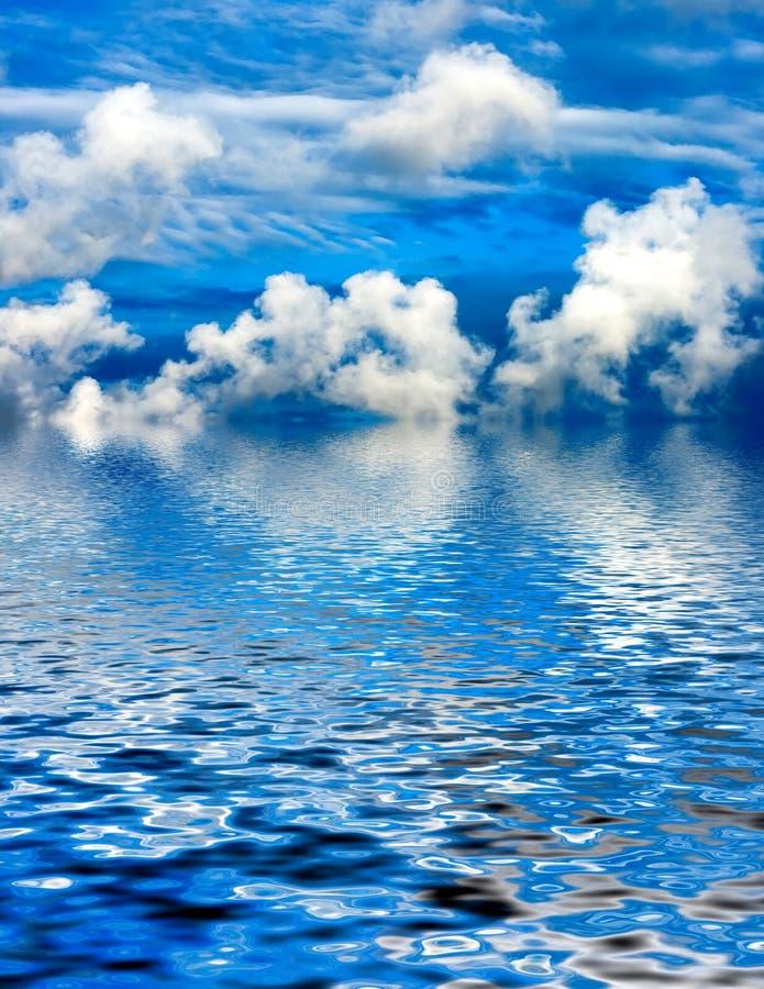 błękitne niebo. obrazy royalty free