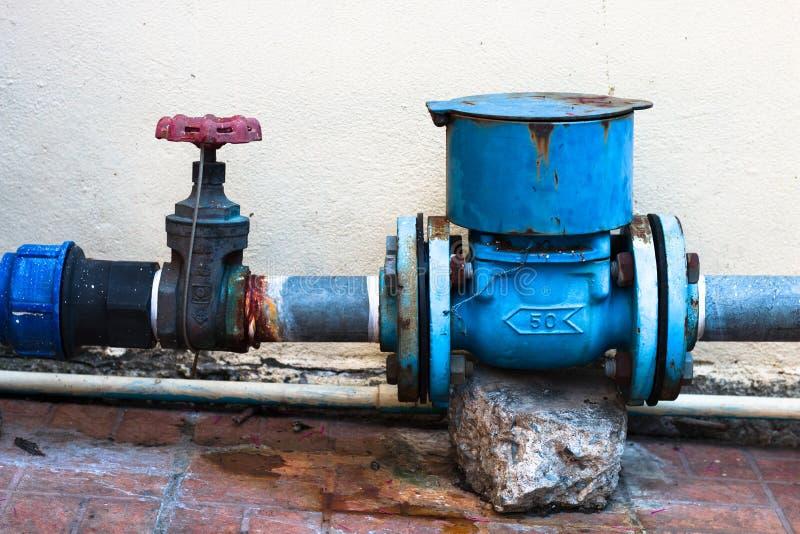 Błękitne wody drymba na blackground fotografia royalty free