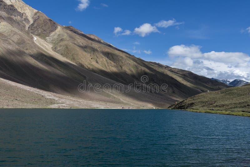 Błękitne wody taal Chandra zdjęcia stock