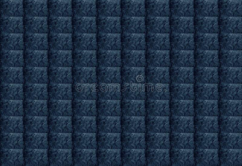 Błękitnego abstrakta Textured Prostokątny Geometryczny tło Projekt może używać dla artykułów, druk, Ilustracyjny zamierza, ilustracji
