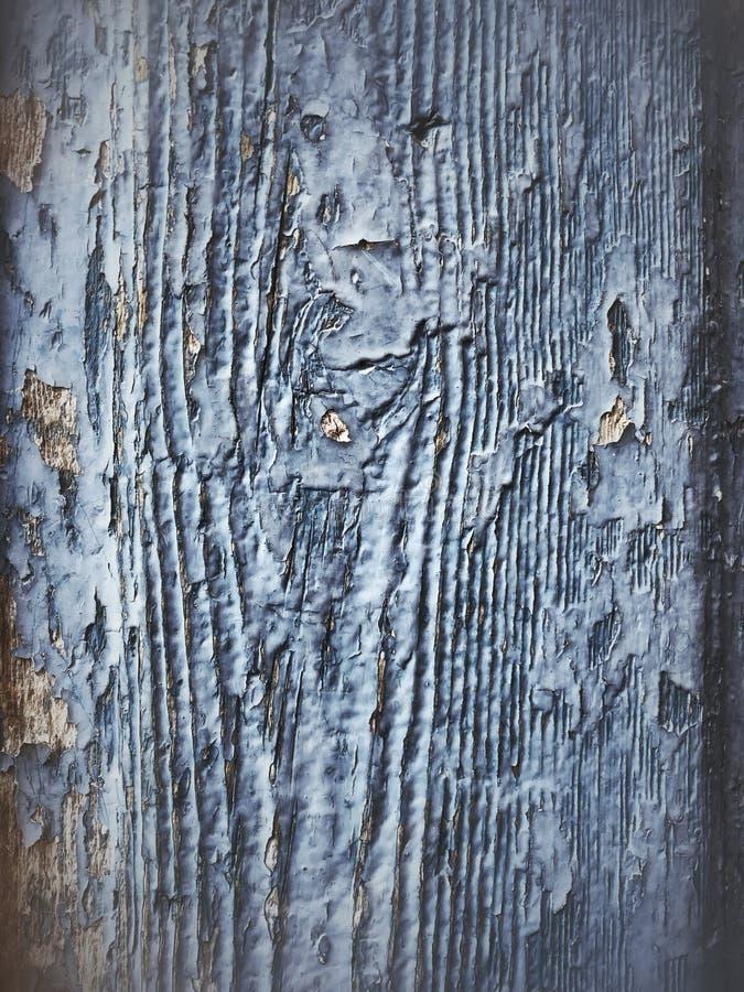 Błękitnego barwionego grunge drewniany tło obrazy royalty free