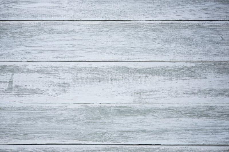 Błękitnego drewnianego tło starego projekta pusta czysta tapeta obraz stock