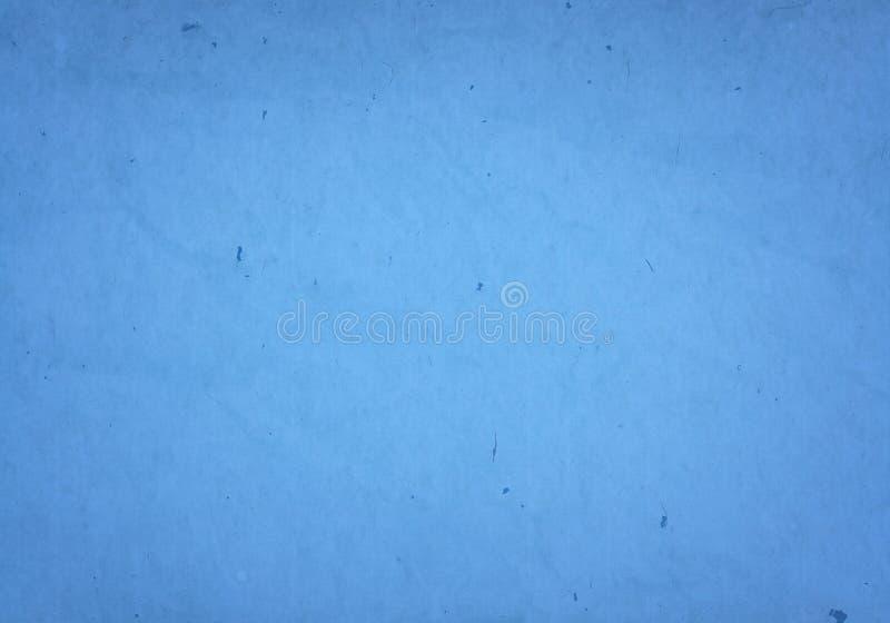 Błękitnego papieru ściana obraz royalty free