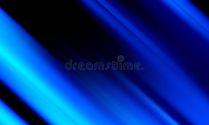 Błękitnego plamy abstrakcjonistycznego tła wektorowy projekt, kolorowy zamazany ocieniony tło, żywa koloru wektoru ilustracja ilustracji