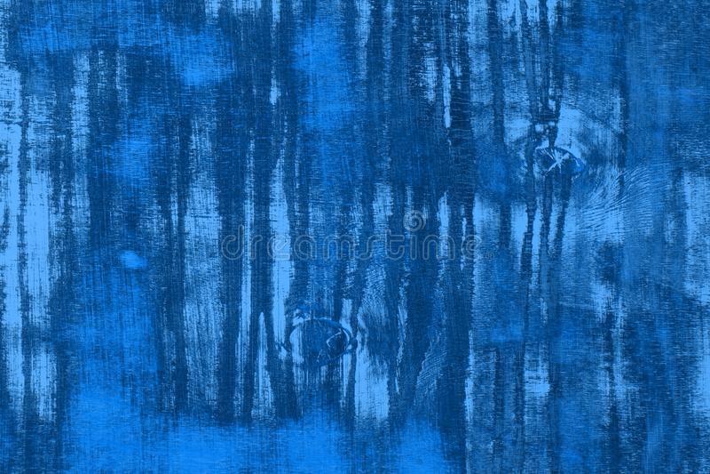 Błękitnego projekta drewniana podłoga z różną dużą narys teksturą - ładny abstrakcjonistyczny fotografii tło zdjęcia stock