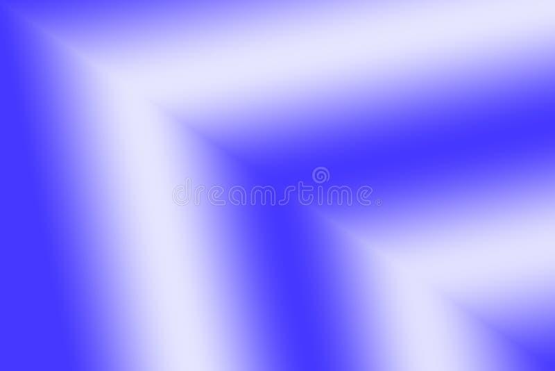 Błękitnej Białej strzała Inspirowany Abstrakcjonistyczny tło royalty ilustracja