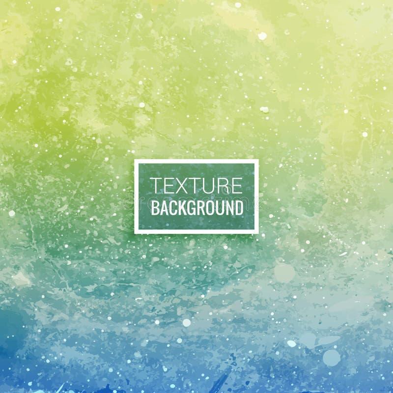 Błękitnej zieleni tekstury tła projekta wektorowa ilustracja ilustracji