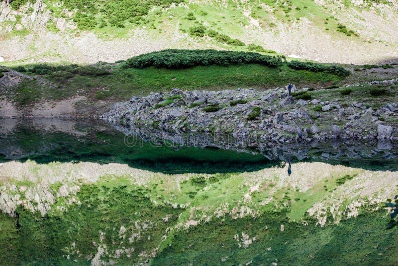 Błękitni jeziora, Kamchatka zdjęcia royalty free