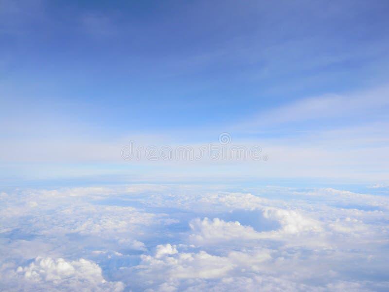 Błękitni skys obraz stock