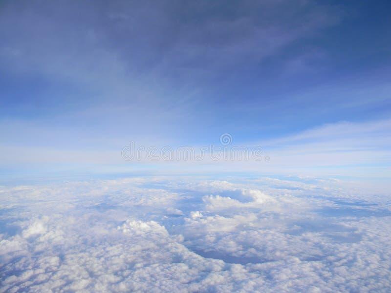 Błękitni skys fotografia royalty free