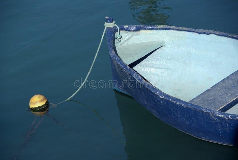 błękitny łódź obrazy royalty free