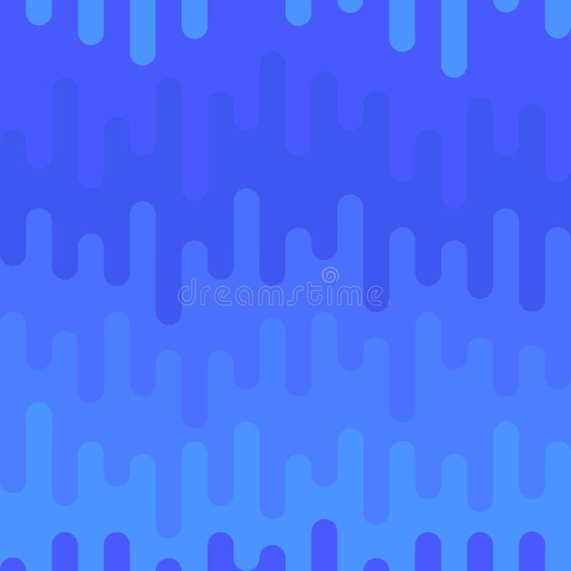 Błękitny abstrakcjonistyczny bezszwowy tło ilustracji