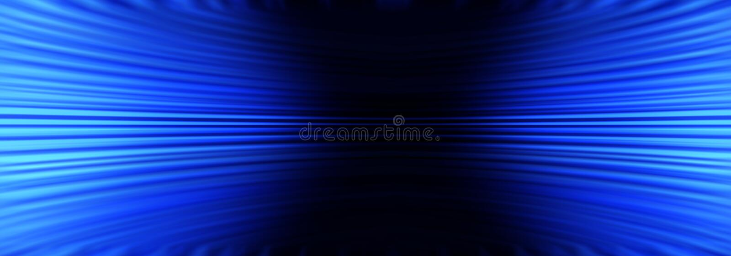 Błękitny Abstrakcjonistyczny sztandaru tło ilustracja wektor