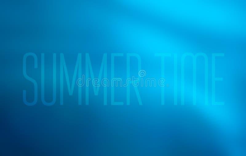 Błękitny abstrakcjonistyczny tło dla strony internetowej, gradientowe kolor przemiany woda morska i ocean turkus z tekstem, ilustracja wektor