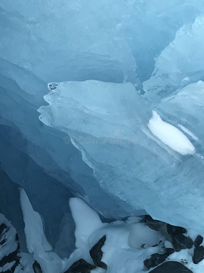 Błękitny Alaski lodowiec obrazy stock