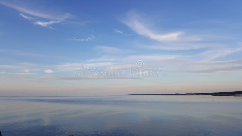 Błękitny Baltic zdjęcia stock