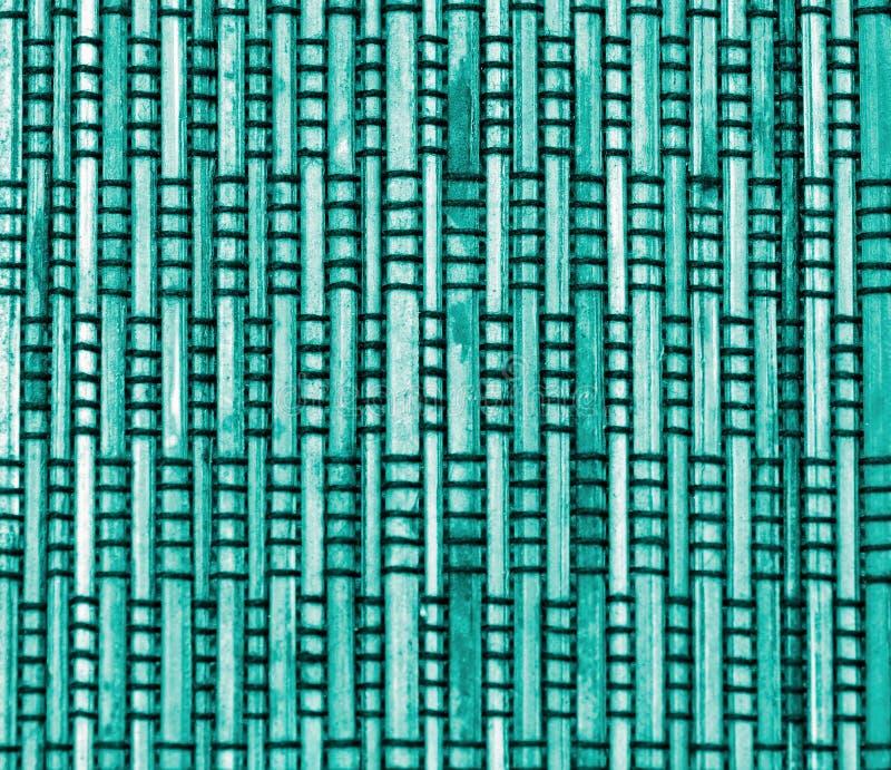 Błękitny bambusowy tło fotografia stock