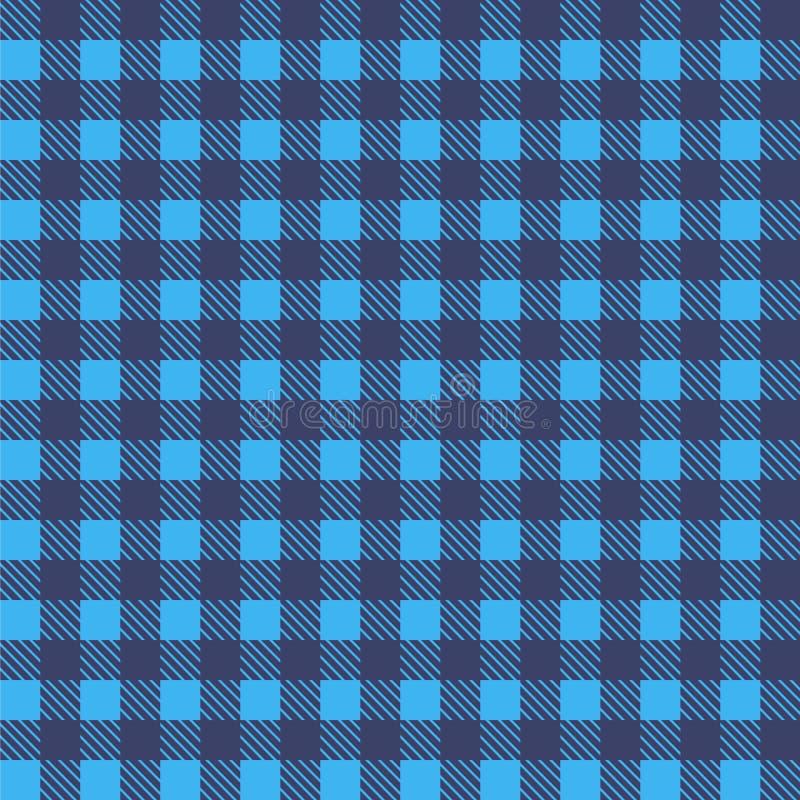 Błękitny bezszwowy tablecloth wektor Powiewny Błękitny i Nadrzeczny kolor Bezszwowy tradycyjny tablecloth wzoru wektor Pastelowy  ilustracji