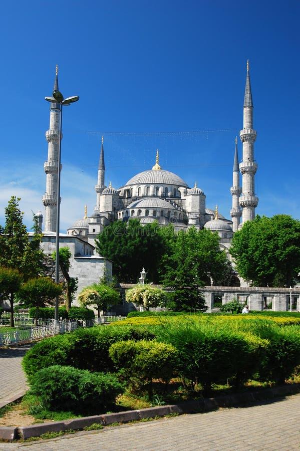 błękitny camii Istanbul meczet zdjęcia royalty free