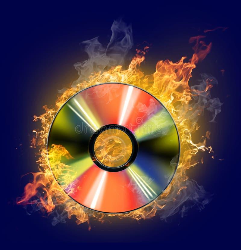 błękitny cd ilustracji