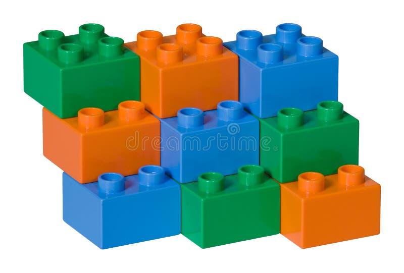 Download Błękitny Cegieł Zielona Pomarańczowa Klingerytu Zabawka Zdjęcie Stock - Obraz złożonej z plan, uczenie: 13331464
