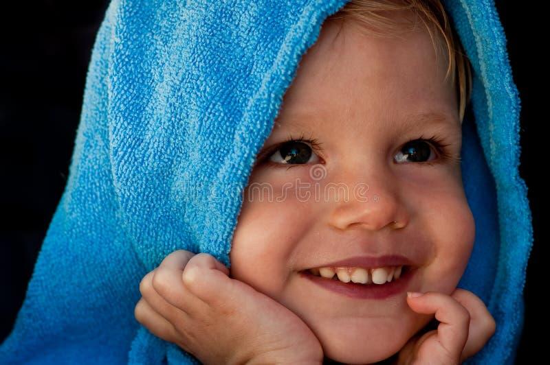 błękitny chłopiec obraz royalty free
