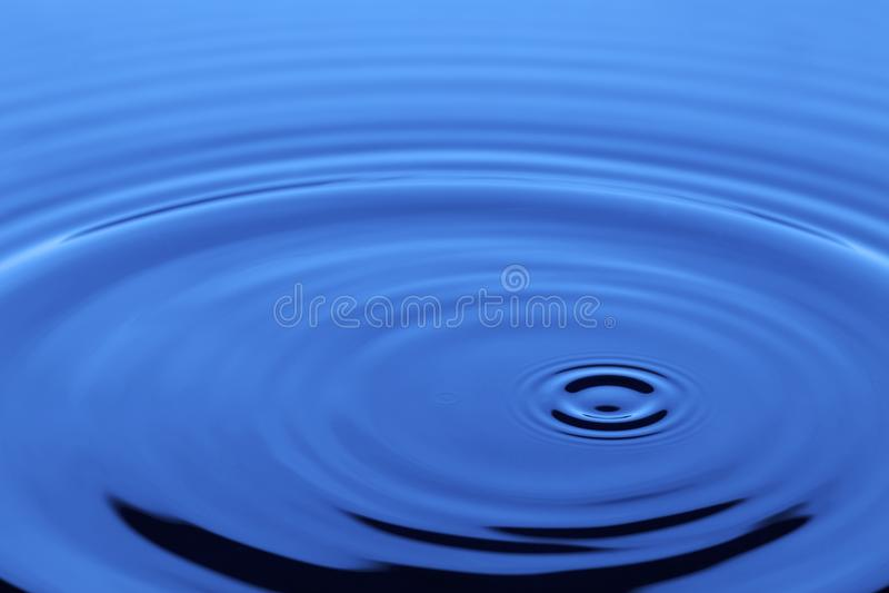Błękitny ciecz fotografia stock