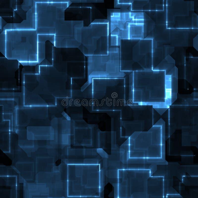 błękitny circuitry ilustracji