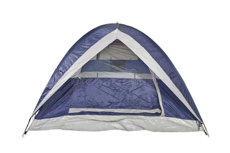 błękitny czysty namiot zdjęcie stock