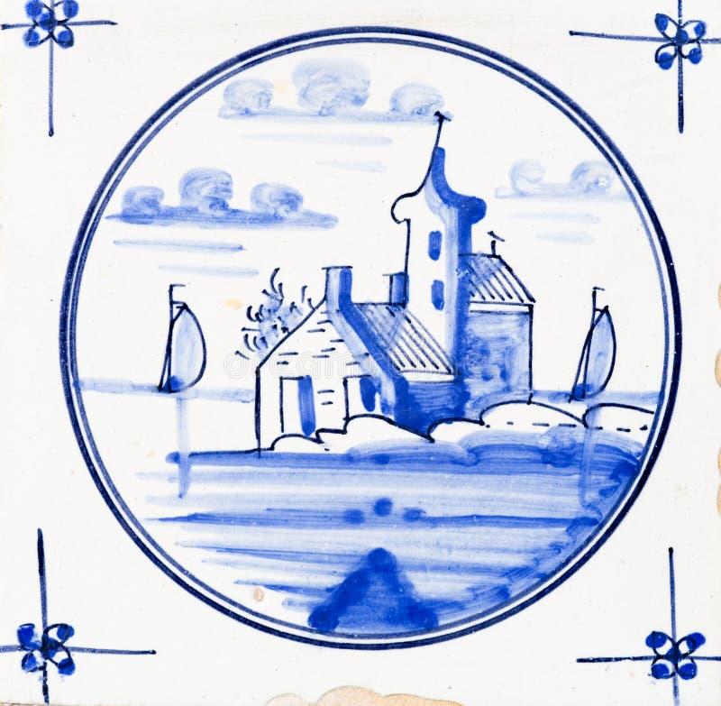 błękitny Delft zdjęcie royalty free