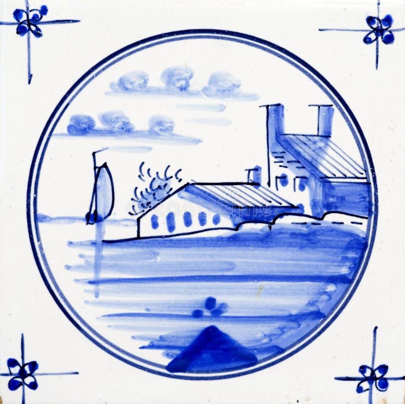 błękitny Delft zdjęcie stock