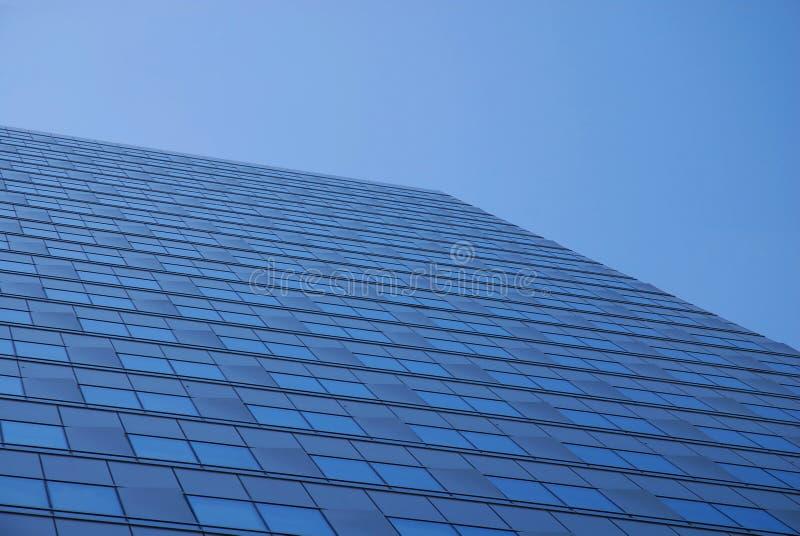 błękitny drapacz chmur zdjęcie royalty free