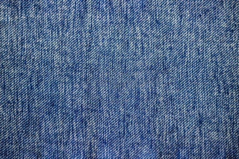 Błękitny drelichowy cajg tekstury tło może używać jako tapetowa horyzontalna orientacja zdjęcia royalty free