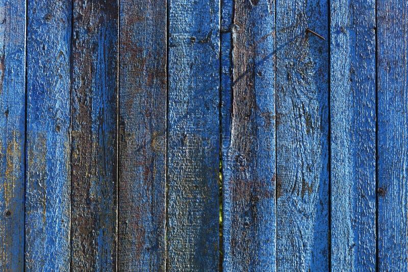 Błękitny drewniany tło dla prezentacj lub reklamy fotografia stock