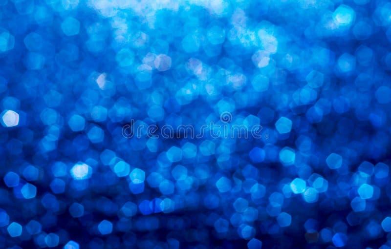 Błękitny elegancki abstrakcjonistyczny bokeh tło zdjęcie royalty free