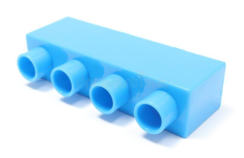 Błękitny element na białym tle obrazy stock