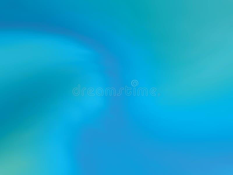 Błękitny gradientowy holograficzny tło Stylowy 80s - 90s Kolorowa tekstura w pastelu, neonowy kolor ilustracja wektor