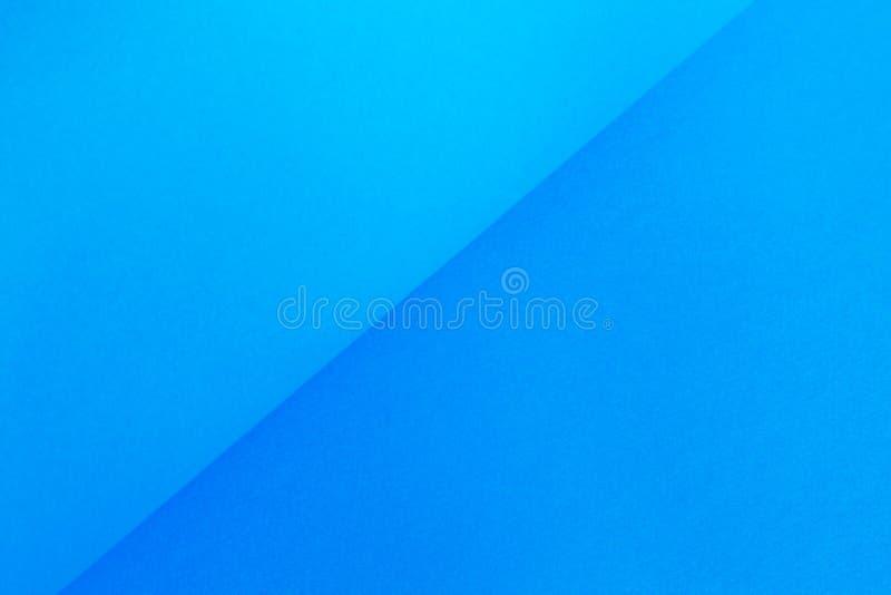 Błękitny gradientu papier zdjęcia stock
