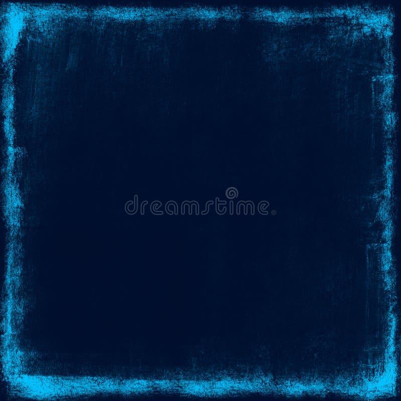 Błękitny grunge tło royalty ilustracja
