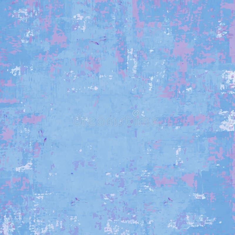 Błękitny grunge wektoru tło royalty ilustracja