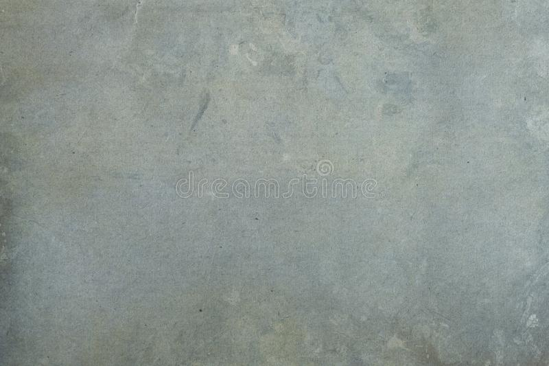 Błękitny grungy Kraft papieru tło lub tekstura obraz stock
