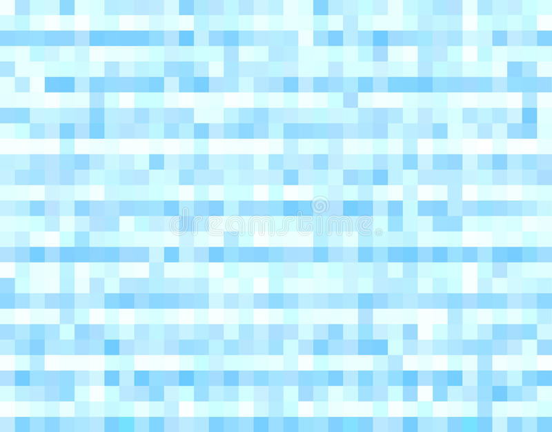 Błękitny halftone piksli tło royalty ilustracja