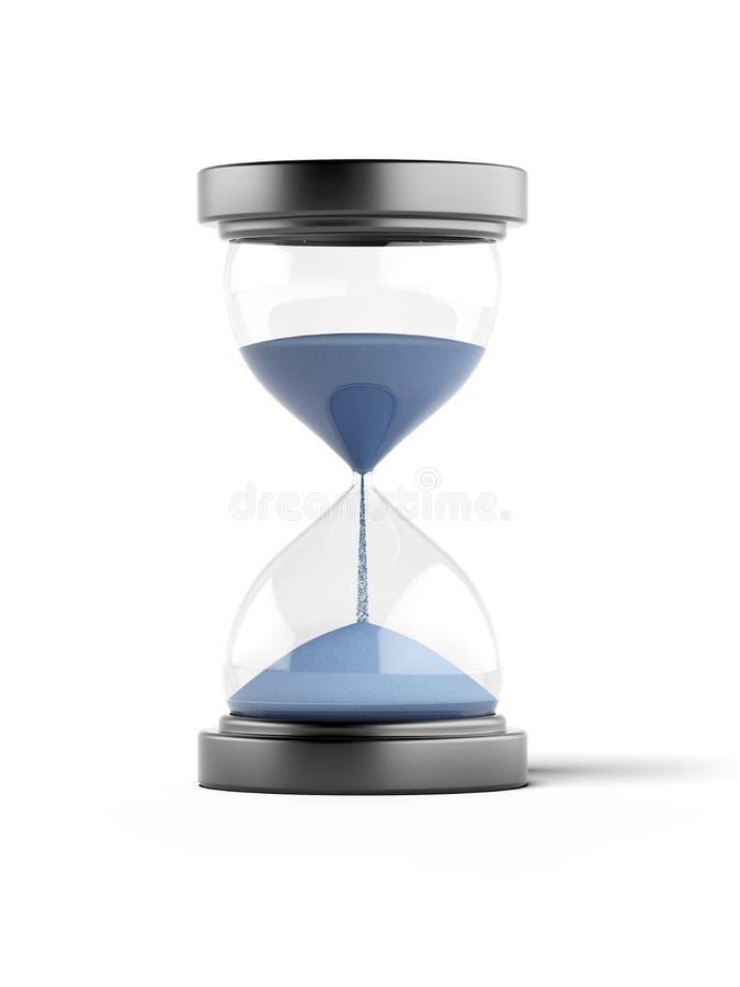 Błękitny Hourglass ilustracji