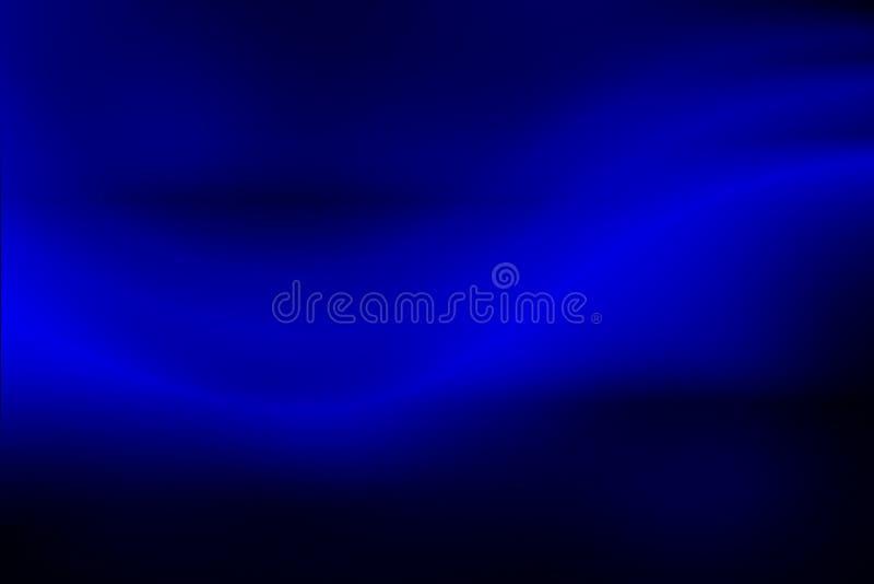 Błękitny i czarny Abstrakcjonistyczny tło, plamy światło ilustracji